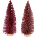 Fir Luh, 2 colors, H33cm, D12cm, pink glitter &amp